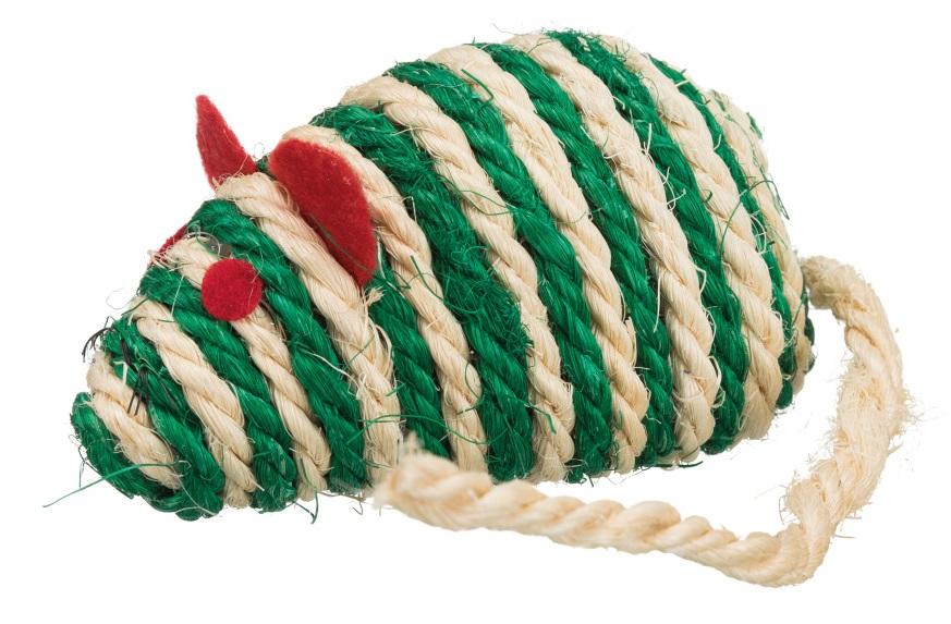 Myš sisálová 10cm