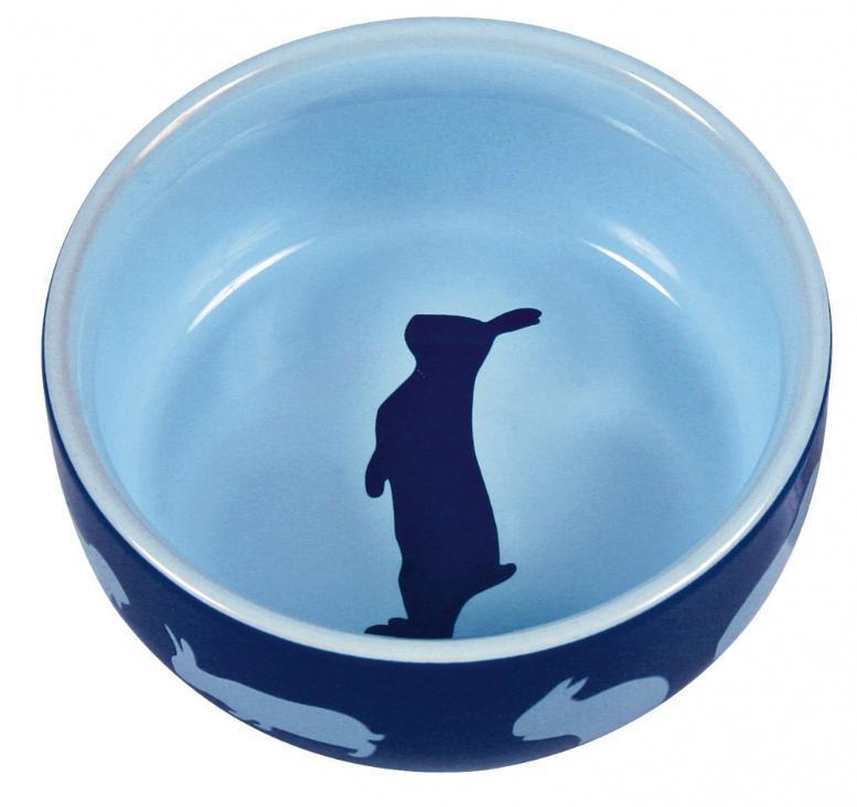 MISKA  keramická pro králíky barevná (trixie) 250ml/11 cm