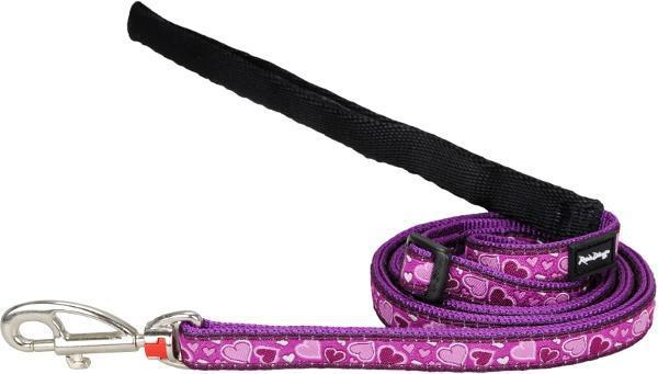 Vodítko RD Breezy Love Purple 2,5cm/1,8m