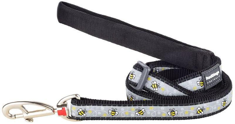 Vodítko RD BUMBLE BEE black 2cm / 1,8m