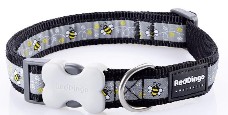 Obojek RD BUMBLE BEE black 2,5/41-63cm
