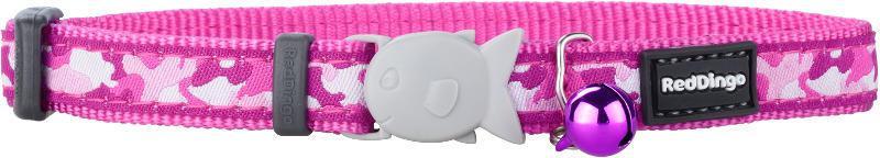 Obojek RD  cat Camoufage Pink 20-32 cm