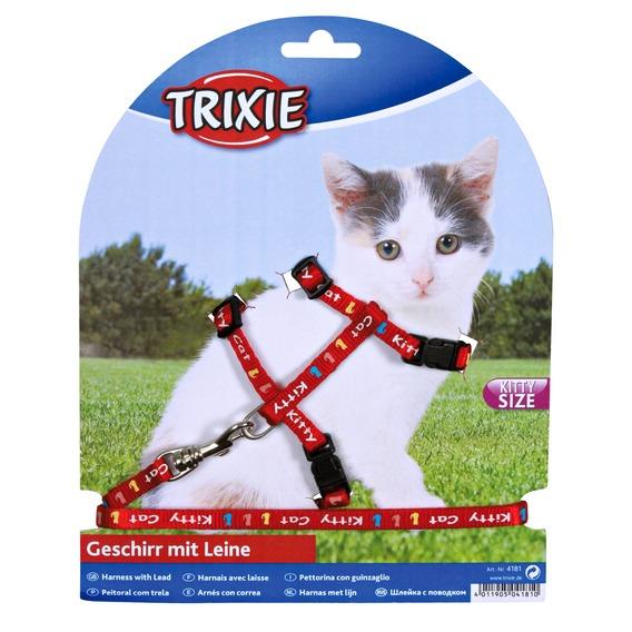 Postroj (trixie) pro koťata kitty cat 21-33/8mm/1,20cm